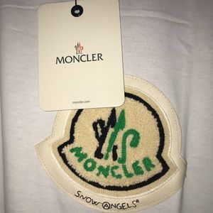 Moncler by Palm Angels Mind Control patchwork Tee